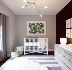New Baby Boy Nursery Paint Colors Blue Gray Ideas Chic Nursery, Nursery Modern, Nursery Room, Nursery Ideas, Modern Nurseries, Jungle Bedroom, Minimalist Nursery, Project Nursery, Nursery Decor