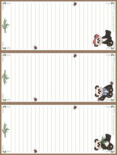 Lined Writing Paper, Printable Lined Paper, Journal Paper, Note Paper, Planner Pages, Recipe Cards, Happy Planner, Stationery, Paper Crafts