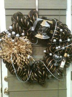 New Year wreath