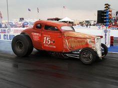 Jim Busby Racing — The 15 Ounce Coupe! Custom Muscle Cars, Chevy Muscle Cars, Custom Cars, Cool Car Pictures, Old Race Cars, Drag Racing, Auto Racing, Vintage Race Car, Drag Cars
