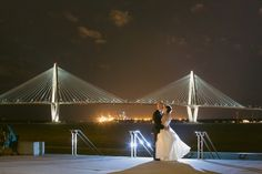 Joanne & Seth's wedding at the South Carolina Aquarium. Wedding by Hamby Catering & Events.