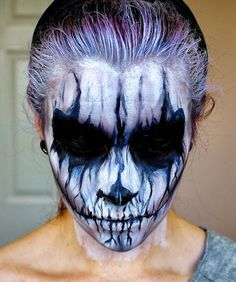 Faces of Fright: Scary Halloween Makeup - Neatorama