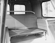 Afbeeldingsresultaat voor citroen 2cv furgoneta interior