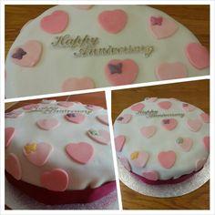 Anniversary cake for Mam & Dad