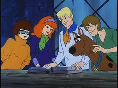Os Novos Filmes do Scooby-Doo (The New Scooby-Doo Movies – Scooby Doo 1969, Scooby Doo Movie, New Scooby Doo, Good Cartoons, Looney Tunes Cartoons, Cartoon Live, Cartoon Art, Daphne Blake, Davy Jones