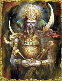 Horror Art, Horror Fantasy, Tomb Of Horrors, Gothic Horror, Warhammer Fantasy, Fantasy Battle, Warhammer Fantasy Roleplay, Fantasy Illustration, Warhammer Fantasy Battle
