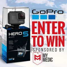 Want to win a GoPro? Enter Now!