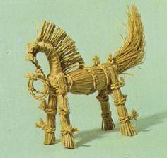 桐原の藁馬(長野県)