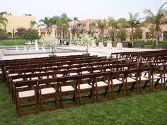 Ceremony in Luce and Legacy Plaza