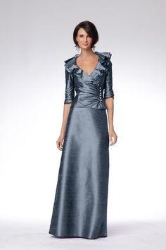 Pretty two piece in slate blue: mother of the bride? @Shelley Parker Herke Parker Herke Parker Herke Lucius