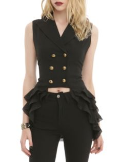 Spin Doctor Beatrice Waistcoat Vest-I own this. Purchased from Hot Topic.