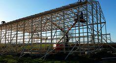 New barn going up in Washington County, NY
