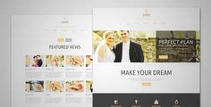 Download and review of Elastic - Wedding WordPress Theme, one of the best Themeforest Wedding themes