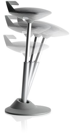 muvman's ingenious stool helps users to lean towards the perfect posture.  One of my favorites from Neocon 2012 in Chicago