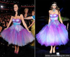 Dreams That Glitter xoxo: Katy Perry Rocking Betsey Johnson at 2011 People's Choice Awards