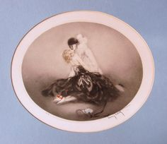 """Limited Edition Print """"Embrace (The Kiss)"""" by Louis Icart"""