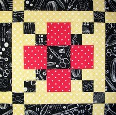 Starwood Quilter: Stitcher's Square Quilt Block by Cindy Fontaine