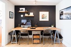 An office for two!