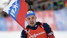 Мужская биатлонная сборная взяла золото этапа Кубка мира | 24инфо.рф