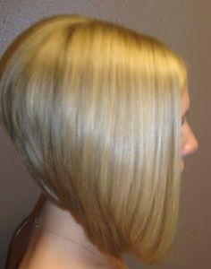 bob hair long in front short in back | Women Hairstyles Ideas
