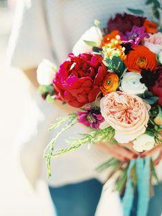 The Lonely Bouquet Project.   Florals: Violet Floral Design.  Sara Hasstedt: Photographer