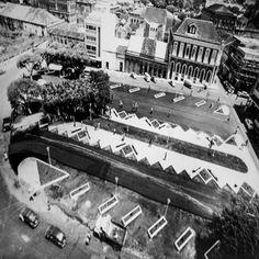 Praça Tenreiro Aranha. Manaus. Acervo: Moacir Andrade.