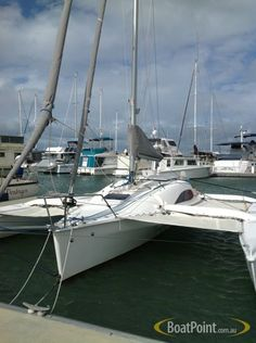 1994 Horstman Tri-Star 35 Trimaran Sail Boat For Sale ...