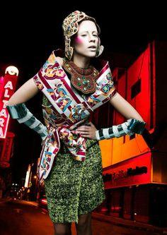 60 Kimono-Clad Geisha Editorials - From Saturated Japanese Fashions to Cherry Blossom Editorials (TOPLIST)