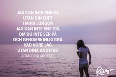 16+gånger+Kent+satte+ord+på+våra+känslor+(Tack+för+allt!) Words Quotes, Qoutes, Great Quotes, Love Quotes, I Have Your Back, Music Lyrics, Music Bands, Life Lessons, Texts