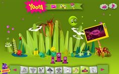 Yoopa by Alvaro Pérez del Solar, via Behance. French Teaching Resources, Teaching French, Teaching Ideas, Kids Tv Channels, French Websites, Educational Websites For Kids, Kids Sites, French Practice, Ontario Curriculum
