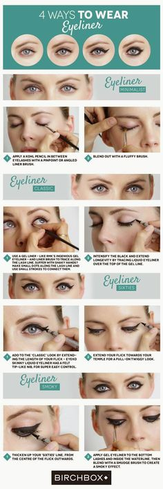 Sexy Crossdresser Gurl: 4 Ways To Wear Eyeliner Makeup Monday