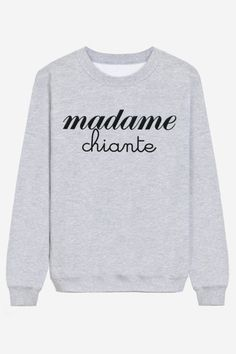 The sweety lady sweater Cool Sweaters, Sweaters For Women, Sweat Gris, Madame Chic, Cool Outfits, Fashion Outfits, Silhouette, Blouse Styles, Mode Style