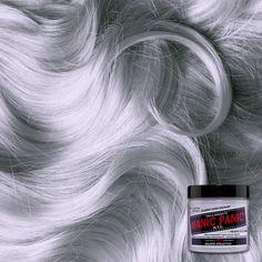 Silver Hair Toner, Silver Hair Dye, Grey Hair Dye, Dyed Hair, Silver Lavender Hair, Short Silver Hair, Silver Ombre, Permanent Hair Dye Colors, Semi Permanent Hair Color