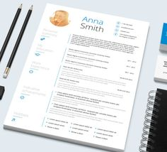 Resume Template and Cover letter // Microsoft Word template