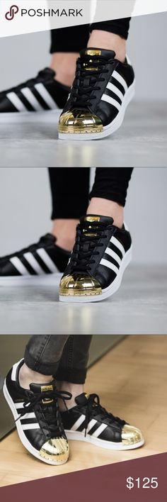 Adidas Gold Toe Brand new without box size 5 1/2 MAKE A OFFER! adidas Shoes Sneakers https://tmblr.co/ZWjKhc2QAtidb