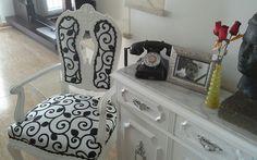 Tapizar y pintar sillón antiguo