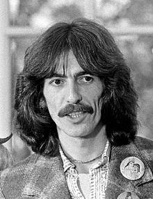 George Harrison ~~ Born	February 25, 1943  Liverpool, England, UK  Died	29 November 2001 (aged 58)  Los Angeles, California, US
