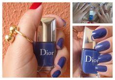 História em Prosa: Esmaltes e Férias da Renata Diniz com #esmalte Dior azul maravilhoso
