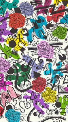 Background Patterns, Drawing Ideas, Kids Rugs, Wallpapers, Photo And Video, Drawings, Room, Inspiration, Instagram