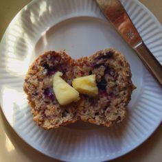 Une délicieuse recette de muffins bleuets-quinoa-graines de chia - Le pamplemousse picoté