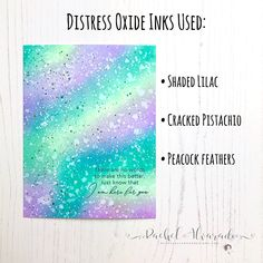 Layton's Legacy Card Drive Fundraiser Distress Oxide Ink Background, Distress Ink Background Blends Distress Ink Techniques, Tim Holtz Distress Ink, Distress Oxide Ink, Colouring Techniques, Card Making Techniques, Color Blending, Copics, Ink Color, Lavinia Stamps