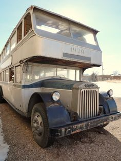 Fageol (the first bus)
