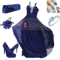 Love all things blue <3 #Tidebuy