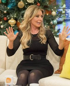 Carol's Bum - The Carol Vorderman Fan Site: 2016 Sexy Older Women, Sexy Women, Carol Vordeman, Carol Kirkwood, Stockings Legs, Famous Girls, Tv Presenters, Thing 1, In Pantyhose