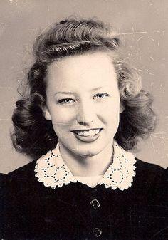 1940's senior school picture by sctatepdx, via Flickr