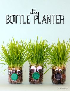 What a cute Earth Day idea or jazz it up and add a flower for a cute Mother's Day activity!