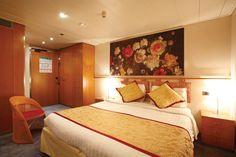 Inside Cabin Costa Victoria, Cabin, Bed, Furniture, Home Decor, Decoration Home, Stream Bed, Room Decor, Cabins