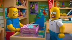 Trailer and images for the LEGO SIMPSONS SPECTACULAR - Warped Factor - Daily features & news from the world of geek