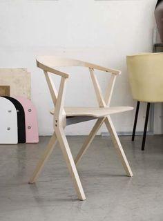 Klappstuhl holz design  Klappstuhl für Esszimmer aus Bambusholz | Whnzmmr | Pinterest ...