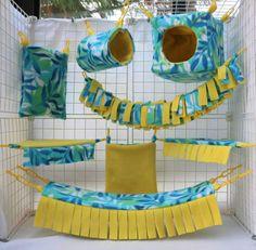 Mango Mojito Sugar Glider Cage Set